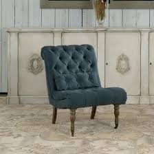dining chairs boudoir chair in cerulean set of 2 by sarreid