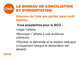 bureau d orientation cfdt la procedure prudhomale renovee