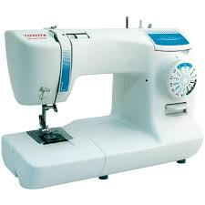 toyota home sewing machine toyota nähmaschinen spb15 white blue from conrad com