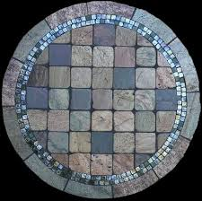 Tile Bistro Table 68 Best Mosaic Stone Tables Images On Pinterest Mosaic Stones