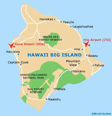 map of hawaii big island hawaii big island maps and orientation hawaii big island usa