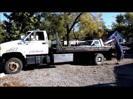 1997 gmc c6500 rollback truck for sale sold at auction december