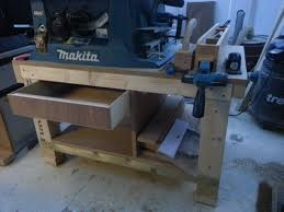 wood table saw stand how to build a cheap table saw stand from scrap pt1 youtube