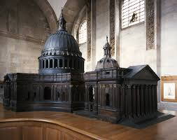 1 designs for the great model 1673 st paul u0027s cathedral