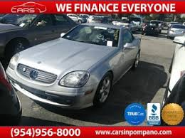 mercedes of fort lauderdale fl used mercedes slk class for sale in fort lauderdale fl 40