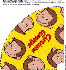 curious george party curious george party hats birthday for kids pbs parents