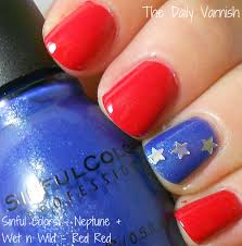 nail art 4th of july cute and simple things i would love to