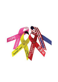 custom awareness ribbons custom awareness ribbons personalized awareness ribbons