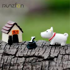 aliexpress buy 3 pcs set micro mini tree animals