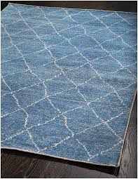 moroccan rug blue creative rugs decoration