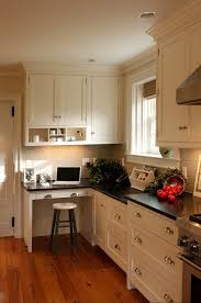 kitchen desk ideas kitchen cabinet ideas with desk outofhome
