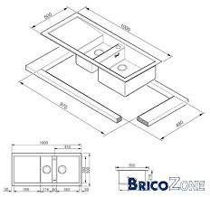 largeur plan de travail cuisine largeur plan de travail de cuisine meuble et déco