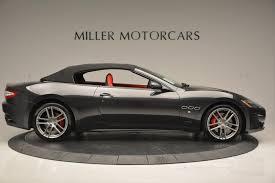 maserati gt 2017 maserati granturismo convertible sport stock m1636 for sale
