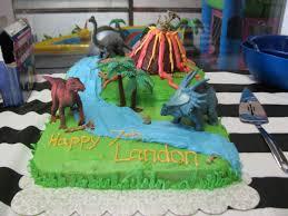 banana lala dinosaur cake for nephew u0027s 7th birthday