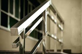 chrome banister rails stairs rails metal beautiful stair railing ideas pictures and