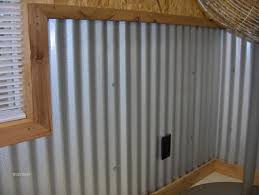 Garage Interior Wall Ideas Garage Walls Corrugated Metal This Is What Gave Me The Idea Of