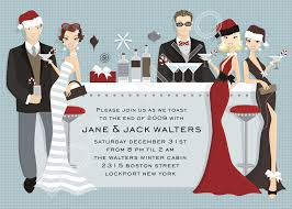 classic holiday invitations doc milo wedding u0026 bridal