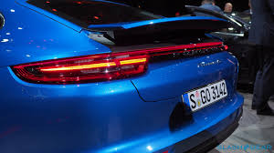 old porsche spoiler 2017 porsche panamera 4s and turbo every techie u0027s dream car