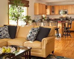 yellow leather sofa living room contemporary with american leather