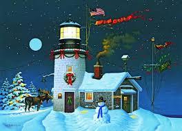 nautical christmas cards christmas lighthouse clipart 64