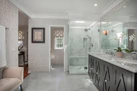 Art Deco Bathroom by Architecture White Art Deco Home Mixed With Large Transparent
