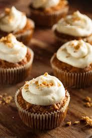 gluten free and grain free carrot cake cupcake recipe