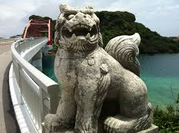 shisa statues free images monument statue gargoyle sculpture okinawa