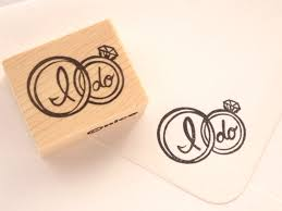 wedding invitations stamps wedding ring rubber stamp i do ring stamp wedding