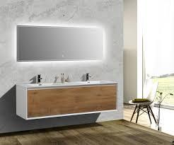 double sink bath vanity aquamoon icon white collection modern double sink bathroom vanity