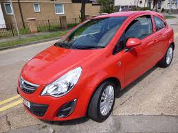 vauxhall corsa used red vauxhall corsa for sale essex
