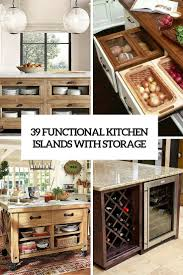 39 kitchen island ideas with storage digsdigs 39 functional kitchen islands with storage cover