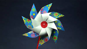 kids crafts diy toy how to make a paper toy windmill pinwheel