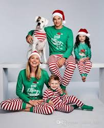 family pajamas family matching clothes new year family