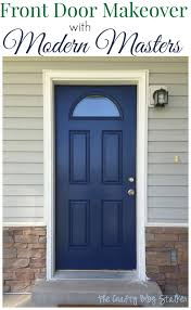 painting your front door the easy way the diy village make your entry pop with a front door makeover the crafty blog stalker