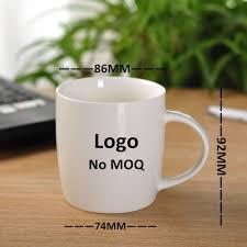 factory direct sale white blank coffee mugs ceramic mug wholesale