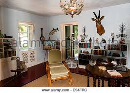 Key West Interior Design by Us Florida Key West Interior Of Ernest Hemingway Home Stock
