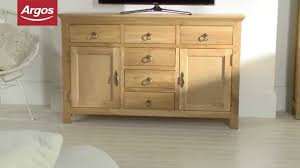 kensington large sideboard oak argos review youtube