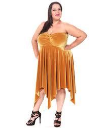 big on batik plus size strapless knot dress