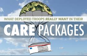 what deployed troops really want in their care packages