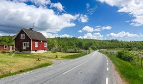 swedish country swedish country landscape in may stock photo picture and royalty