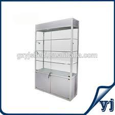 lockable glass display cabinet showcase lockable glass key cabinet with sliding door glass window display