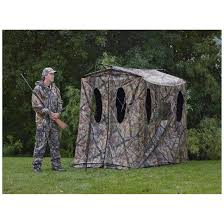 Stand Up Hunting Blinds X Stand X Blind Portable Ground Hunting Blind 651636 Ground