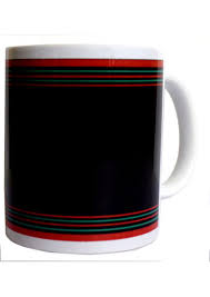 naga men motif design printed mug