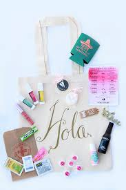 wedding welcome bags contents our wedding the welcome bags katalina girl