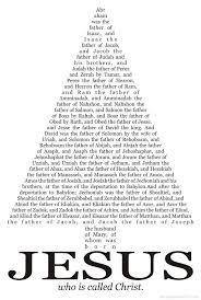 jesus family tree bible adultery religious freedom for all