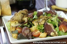 cuisiner manchons de canard recette de salade périgourdine aux manchons de canard confits