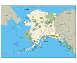 National Park Map Usa by Maps Of Alaska State Collection Of Detailed Maps Of Alaska State