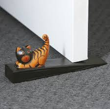 kitty door stopper u0026 wool doorstop