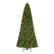 home accents 12 ft pre lit led pine set