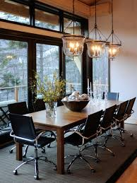 Inspiring Transitional Dining Room Chandeliers Exellent Long Dining Room Light Fixtures Contemporary With Wood